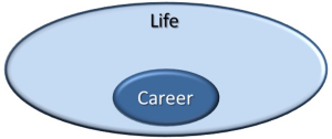 Big life small career