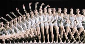 Motion--ballet dancer